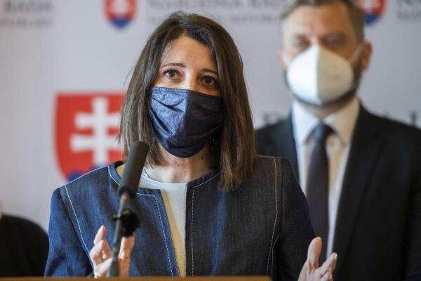 Jana Žitňanská, poslankyňa strany Za ľudí.