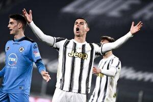 Cristiano Ronaldo z Juventusu Turín.