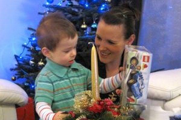 Vianoce sú krásne aj vďaka detskej radosti...