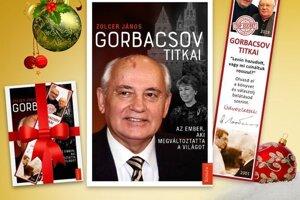 Kniha o M. Gorbačovovi vyšla v maďarskom jazyku.