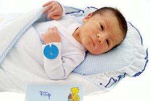 Filip Harag z Prievidze sa narodil 14.2. v Bojniciach
