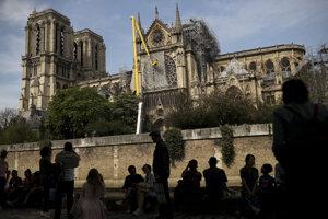 Katedrála Notre-Dame v Paríži.