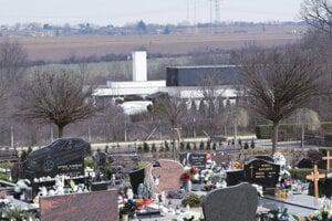 Levické krematórium.