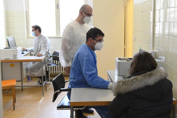 Očkovanie v Košiciach.