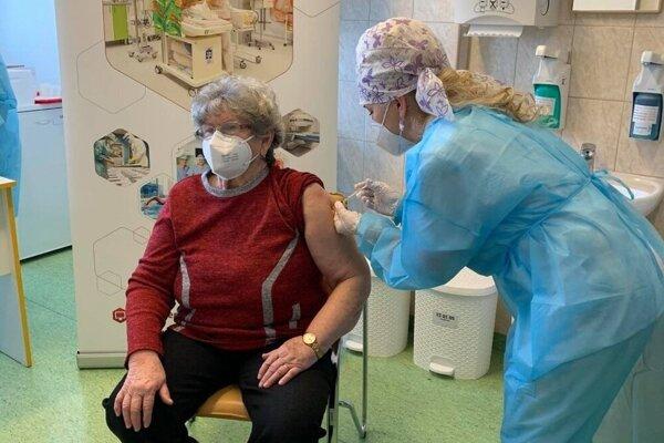 Očkovanie v Šaci