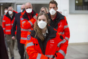 Lekári z Dánska a Belgicka, ktorí prišli pomáhať na Slovensko v rámci náročnej situácie v boji s pandémiou Covid-19.