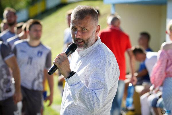 Manažér ŠK Belá Ján Holúbek.