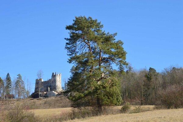 Blatnický hrad.
