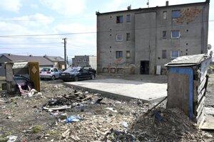 Bytovka v karanténe v obci Soľ.