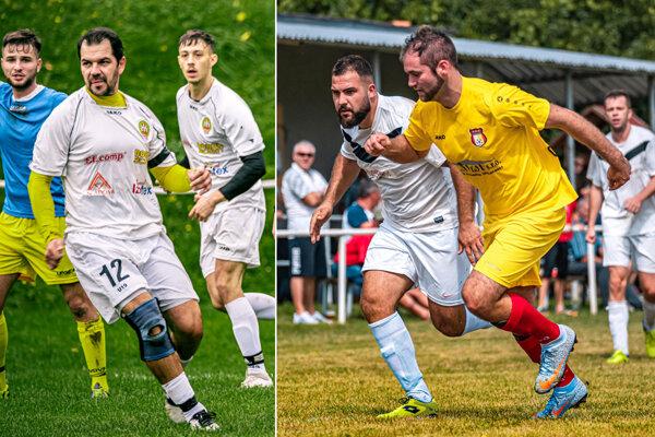 Ilustračné snímky zo zápasov Jelenec - Hosťová a Paňa - Golianovo.
