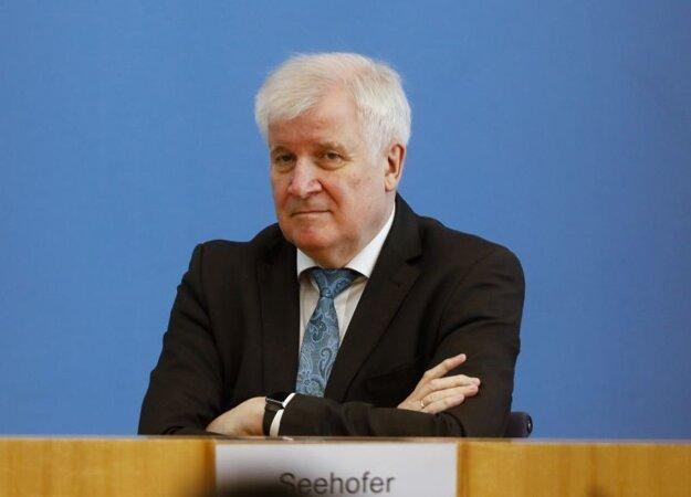 Horst Seehofer, nemecký minister vnútra.