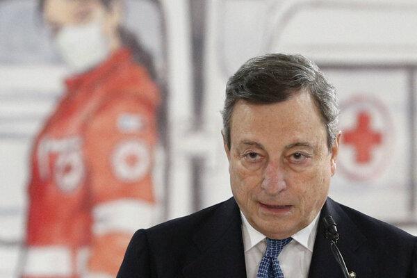 Taliansky premiér Mario Draghi.