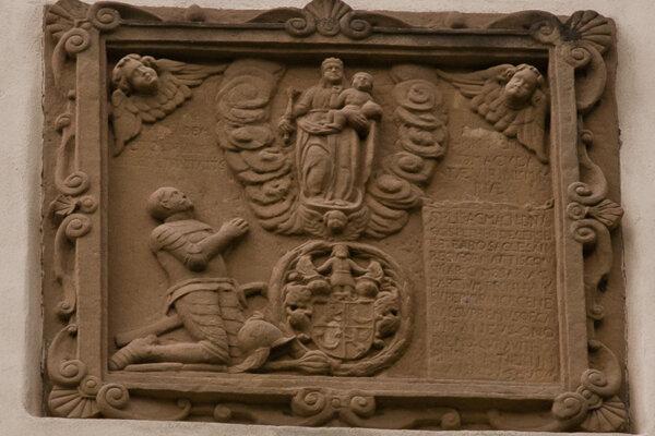Vzácna renesančná tabuľa.