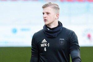 Jakub Červeň odchytal za MFK Ružomberok prvý ligový zápas.