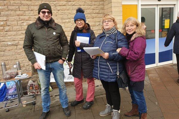 Aktivisti minulý rok bojovali proti výstavbe aj petíciou.