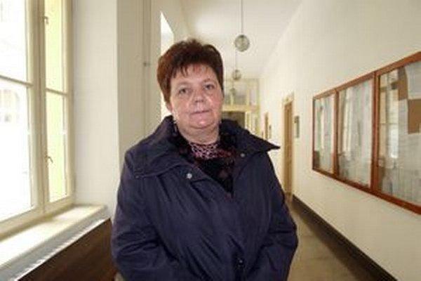 Exprimátorka Serafína Ostrihoňová na súde.