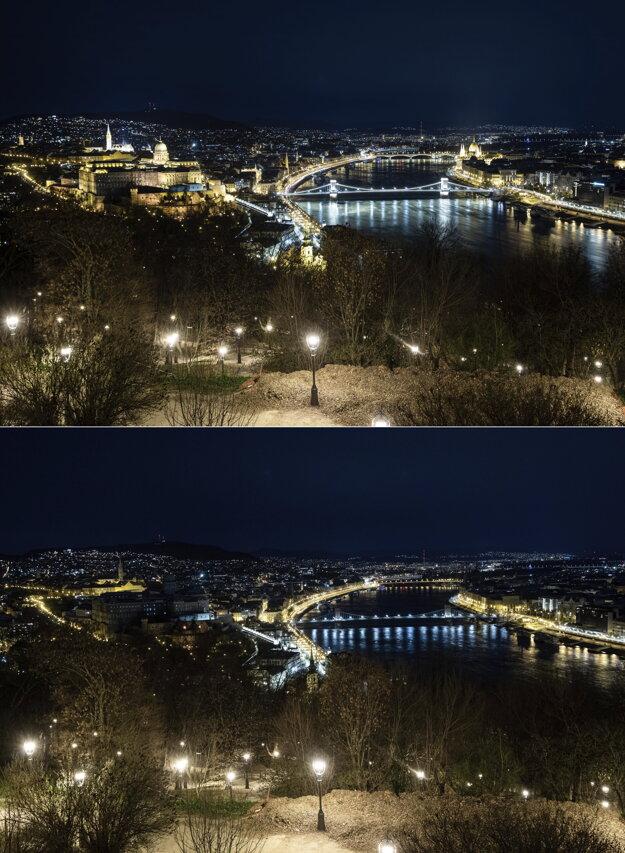Hodina Zeme v Budapešti.