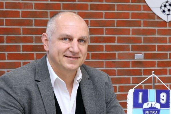 Martin Peško, predseda predstavenstva a generálny manažér FC Nitra.