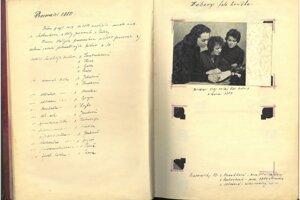 ROKY 1959 – 60 Prvé pedagogičky p. Hanulíková (Handlová), p. Pastieriková (PD) ap. Jakabová (vedúca PD).