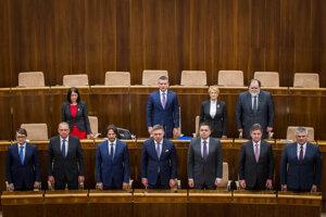 23. marec 2016, Bratislava. Erika Jurinová sa stala podpredsedníčkou parlamentu.