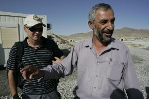 Martin Rajec v Afganistane.
