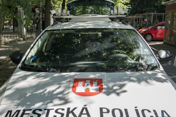 Mestská polícia Bratislava.