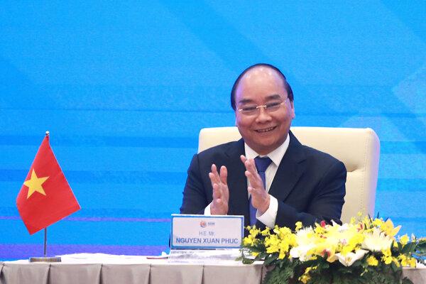 Doterajší premiér a budúci vietnamský prezident Nguyen Xuan Phuc.