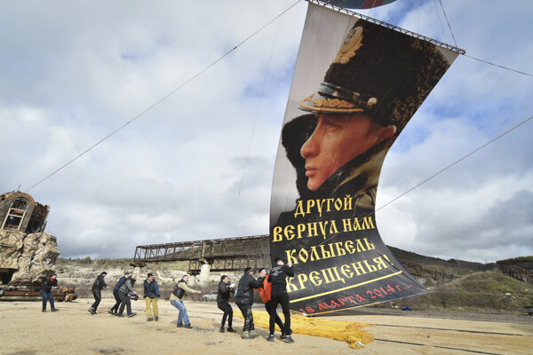 Rusi obsadili Krym pred siedmimi rokmi.