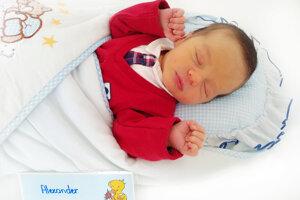 Alexander Kútny z Prievidze sa narodil 8.4.2021 v Bojniciach