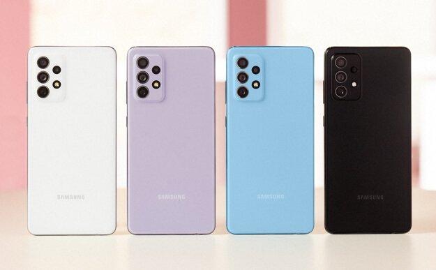 Smartfón je dostupný v štyroch farbách.