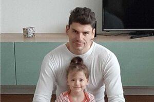 S dcérou Amálkou.