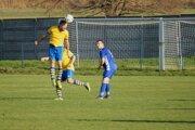 Futbalisti Zv. Slatiny (v žltom) - ilustračné foto