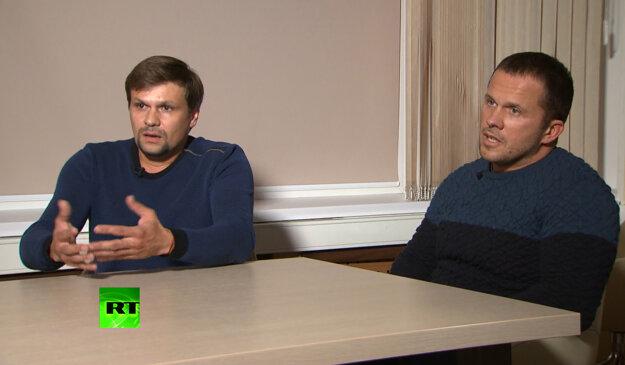 Ruslan Boširov a Alexander Petrov, vlastnými menami Anatolij Čepiga a Alexander Miškin.