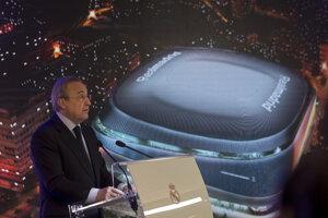 Šéf Realu Madrid Florentino Pérez.