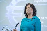 Podpredsedníčka vlády a ministerka investícií, regionálneho rozvoja a informatizácie (MIRRI) SR Veronika Remišová (Za ľudí).