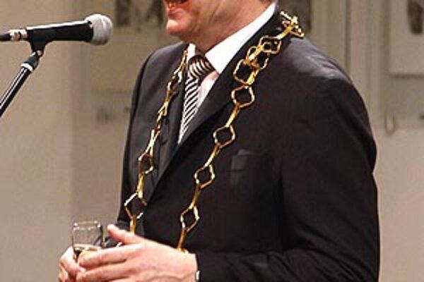 Najlepších športovcov Nitry oceňoval primátor Jozef Dvonč.