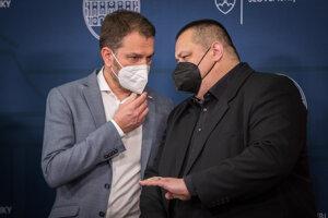 Igor Matovič a Ján Mikas.