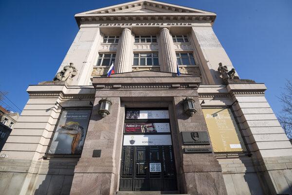 Slovenské národné múzeum v Bratislave.