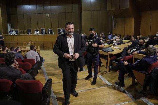 Ioannis Lagos na súde v Aténach.