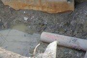 Výstavba kanalizácie. Ilustračné foto.