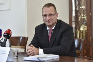 Generálny riaditeľ Slovenskej pošty Martin Ľupták.
