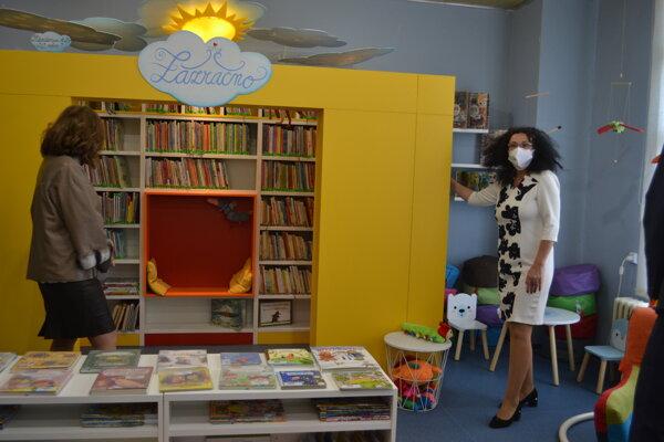 Zmodernizovaný priestor knižnice na Šváboch.