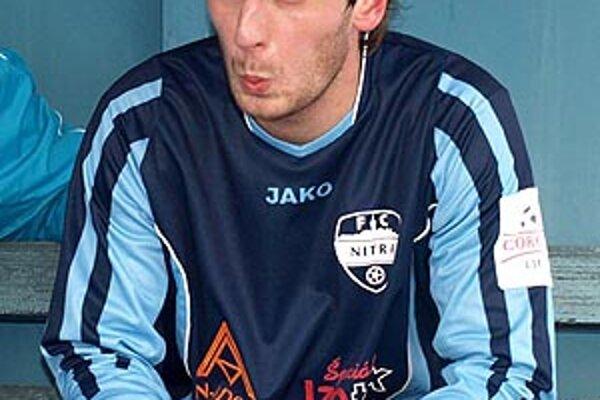 Róbert Cicman prišiel do Nitry aj preto, že sa pozná s trénerom Vukušičom ešte z Košíc.