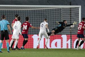 Momentka zo zápasu Real Madrid - Osasuna.