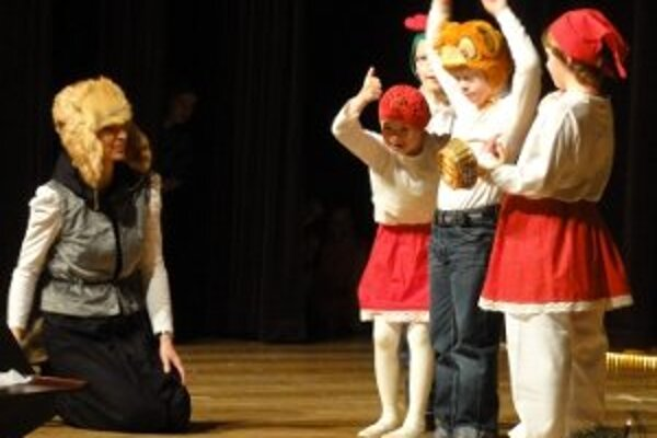 Výstúpenia hendikepovaných detí prilákali asi 500 divákov.