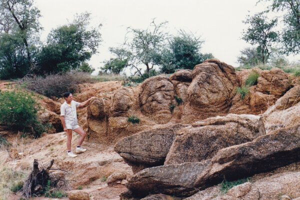 Geológ Ivan Šalaga.