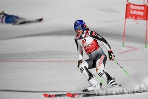 Petra Vlhová vyhrala paralelný obrovský slalom v Lech Zurs 2020.