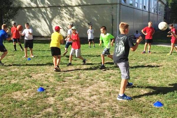 Deti sa vrátili do tréningu s veľkou radosťou.