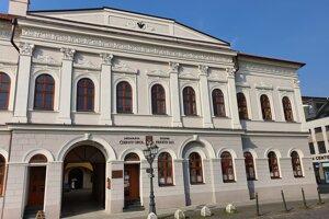Budova v ktorej sídli školská reštaurácia.