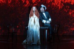 Momentka z opery.